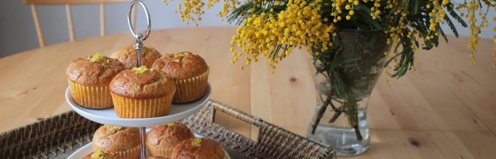 Hafif ve Leziz: Haşhaşlı Limonlu Muffin