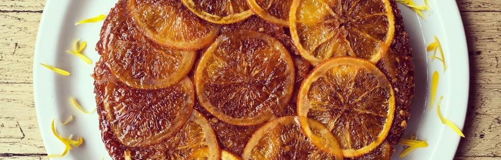 Yerçekimine karşı koyuyoruz: Ters Yüz Portakallı Kek